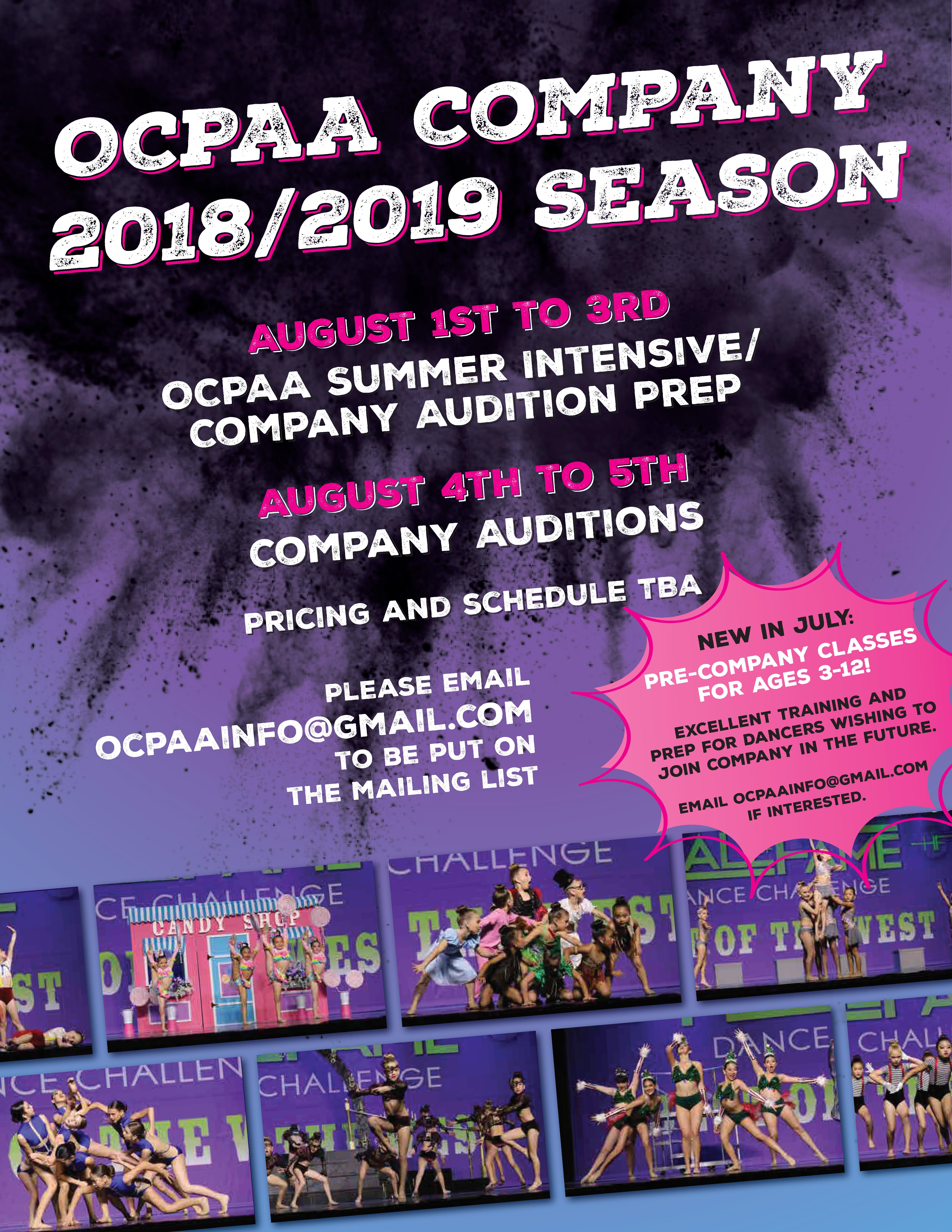 OCPAA – OCPAA Dance Studio